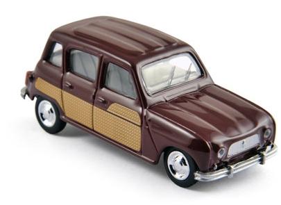 310505  Renault 4 Parisienne 1966, bordeaux, Norev