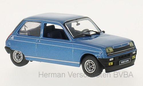 WB240  Renault 5 Alpine1976, blauw, Whitebox