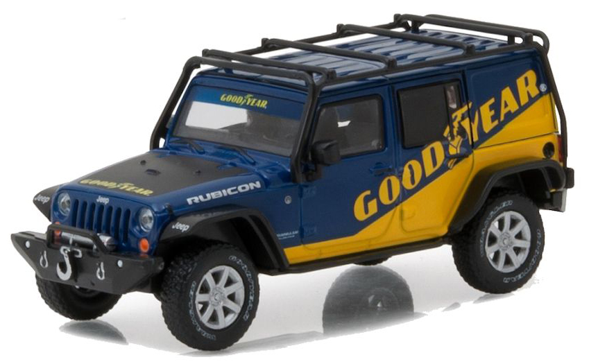 "86080  2016 Jeep Wrangler Unlimited ""Goodyear"", Greenlight"