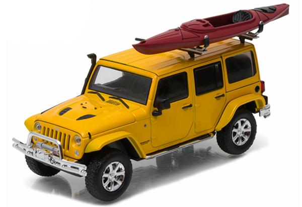 86081  2016 Jeep Wrangler Unlimited + Kayak, Greenlight