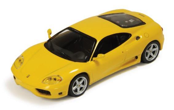FER017  Ferrari 360 Modena1999, geel, Ixo