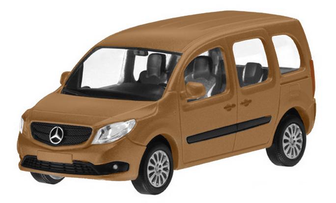 B66004124  Mercedes-Benz Citan, bruin met., Minichamps
