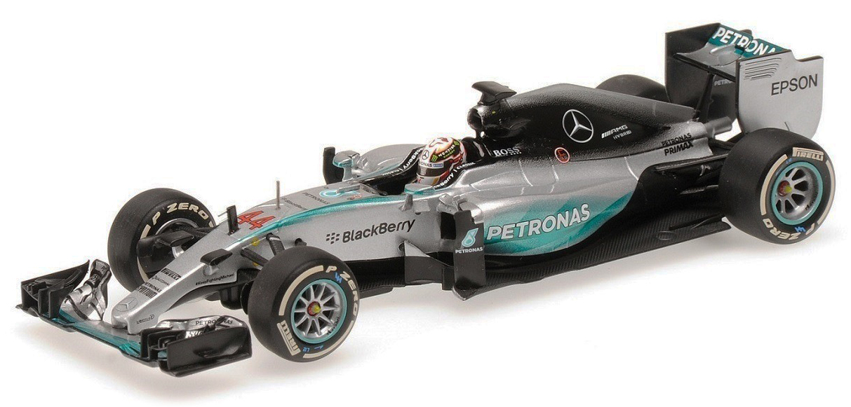 B66960411  Mercedes AMG Petronas F1 Team F1 W07 Hybrid L.Hamilton, Saison 2016, Minichamps