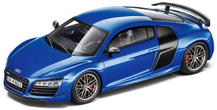 501.16.184.31  Audi R8 e-tron 2016, blauw, Spark