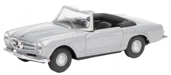 452618100  Mercedes-Benz 280 SL Pagode, zilver, Schuco