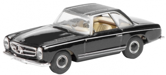 452618200  Mercedes-Benz 280 SL Pagode Hardtop, zwart, Schuco
