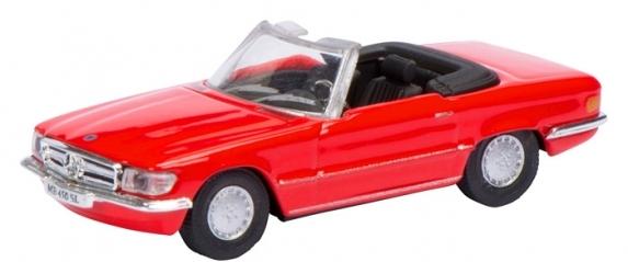 452618700  Mercedes-Benz 450 SL (R107), rood, Schuco