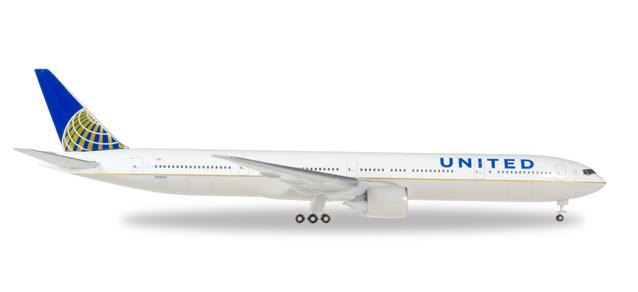 "529877  Boeing 777-300ER ""United Airlines"""