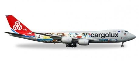"558228  Boeing 747-8F ""Cargolux 45th Anniversary (L)"""