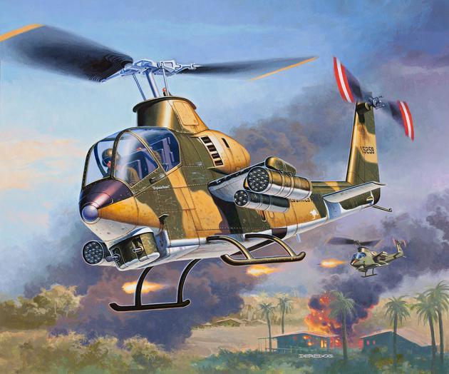 4954  Bell AH-1G Cobra, Revell