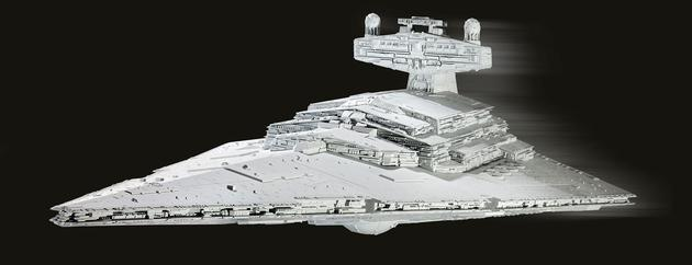 6052  SW: Imperial Star Destroyer + Movie Poster, Revell