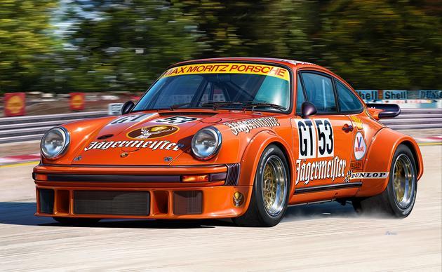 """7031  Porsche 934 RSR """"Jägermeister"""", Revell"""