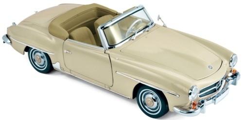 183539  Mercedes-Benz 190 SL 1957, beige, Norev