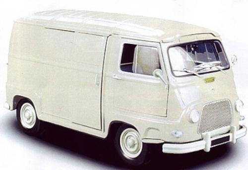 185174  Renault Estafette 1965, beige, Norev