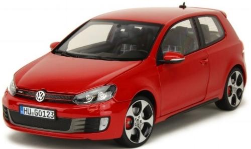 188488  Volkswagen Golf VI GTI 2009, rood, Norev