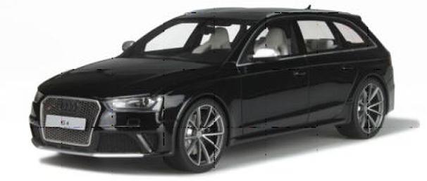 GT726  Audi RS4 B8, zwart, GT Spirit