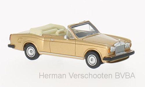 BOS87211  Rolls-Royce Cornische Convertible, goud, Bos