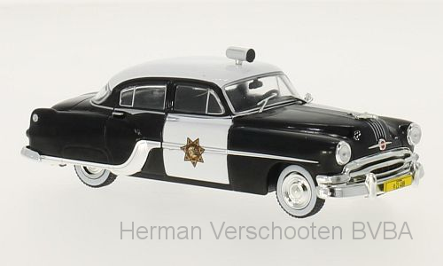 WB189    Pontiac Chieftain police, 1954, Whitebox