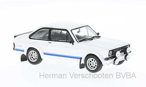 WB226    Ford Escort Mk.II RS 1800, wit, Whitebox