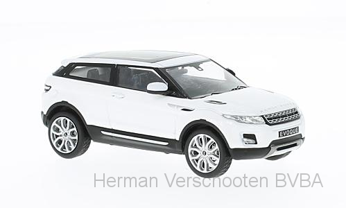 WB227    Range Rover Evoque Coupé 2011, wit, Whitebox