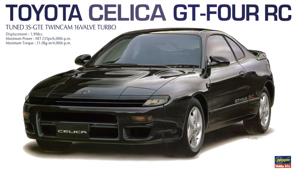 20255    Toyota Celica GT-Four PC, Hasegawa, Schaal 1/24