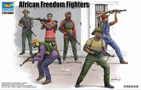 00438    African Freedom Fighters, Trumpeter, Schaal 1/35