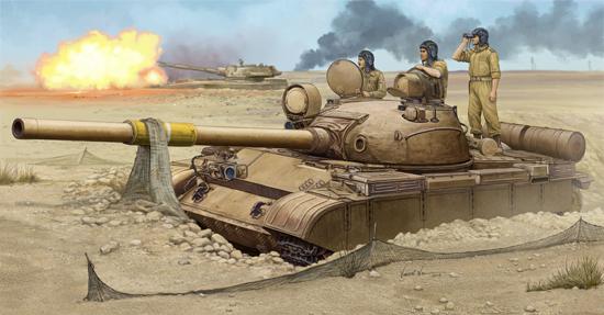 01548  T-62 Mod. 1962 (Iraqi Regular Army), Trumpeter, Schaal 1/35