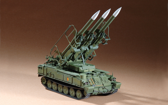 07109    Russian SAM-6 Antiaircraft Missile, Trumpeter, Schaal 1/72