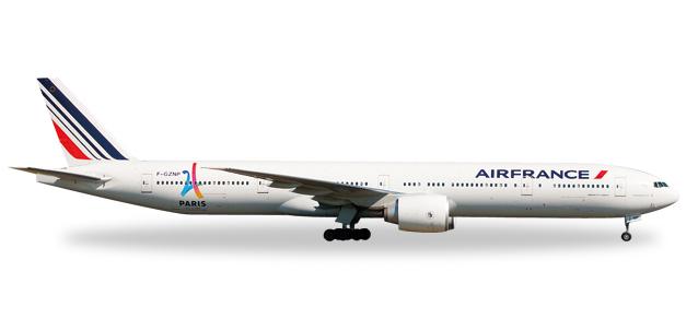 """506892-004  Boeing 777-300ER """"Air France, Paris 2024"""", Herpa Wings"""