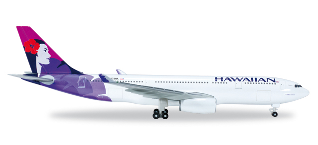 "519137-001    Airbus A330-200 ""Hawaiian Airlines"", Herpa Wings"