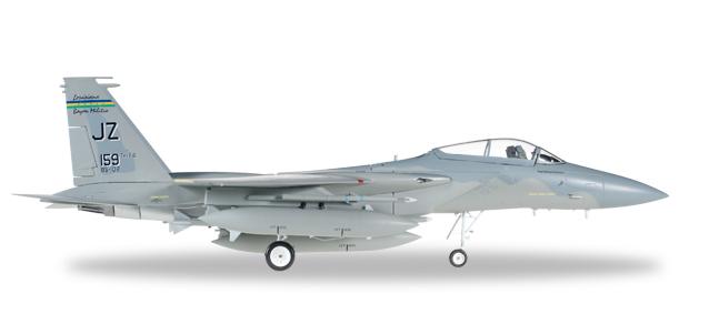 "580038  McDonnell Douglas F-15C Eagle ""USAF Louis. ANG Bayou Militia"", Herpa Wings"