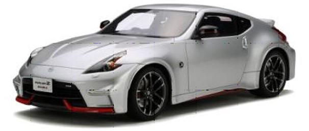 GT138  Nissan 370Z Nismo Z34, Zilver, GT Spirit