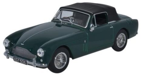 AMDB2002    Aston Martin DB2 MkIII DHC, British Racing Green, Oxford