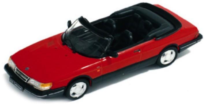 PRD377  Saab 900 Cabriolet Monte-Carlo 1991, rood, PremiumX