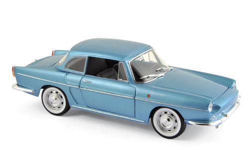 185151  Renault Caravelle 1964, Finlande blauw met., Norev