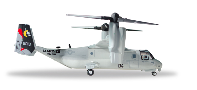 558365    Bell/Boeing MV-22 Osprey U.S.M.C. VMM-764 Moonlight, Herpa Wings