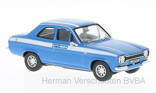 VA09521    Ford Escort MkI Mexico, Electric Monza Blue, Corgi