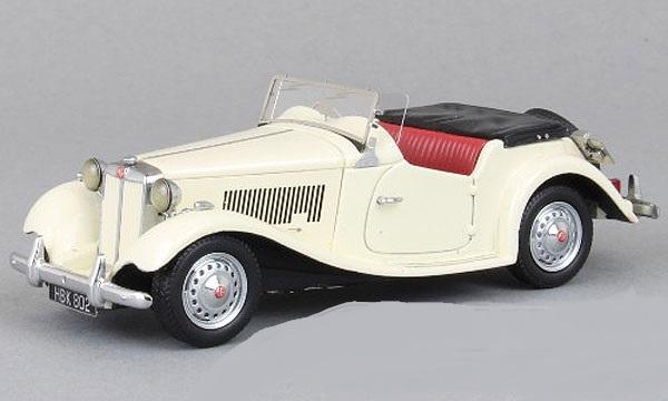 43802  MG TD MkII, wit, Neoscale Models