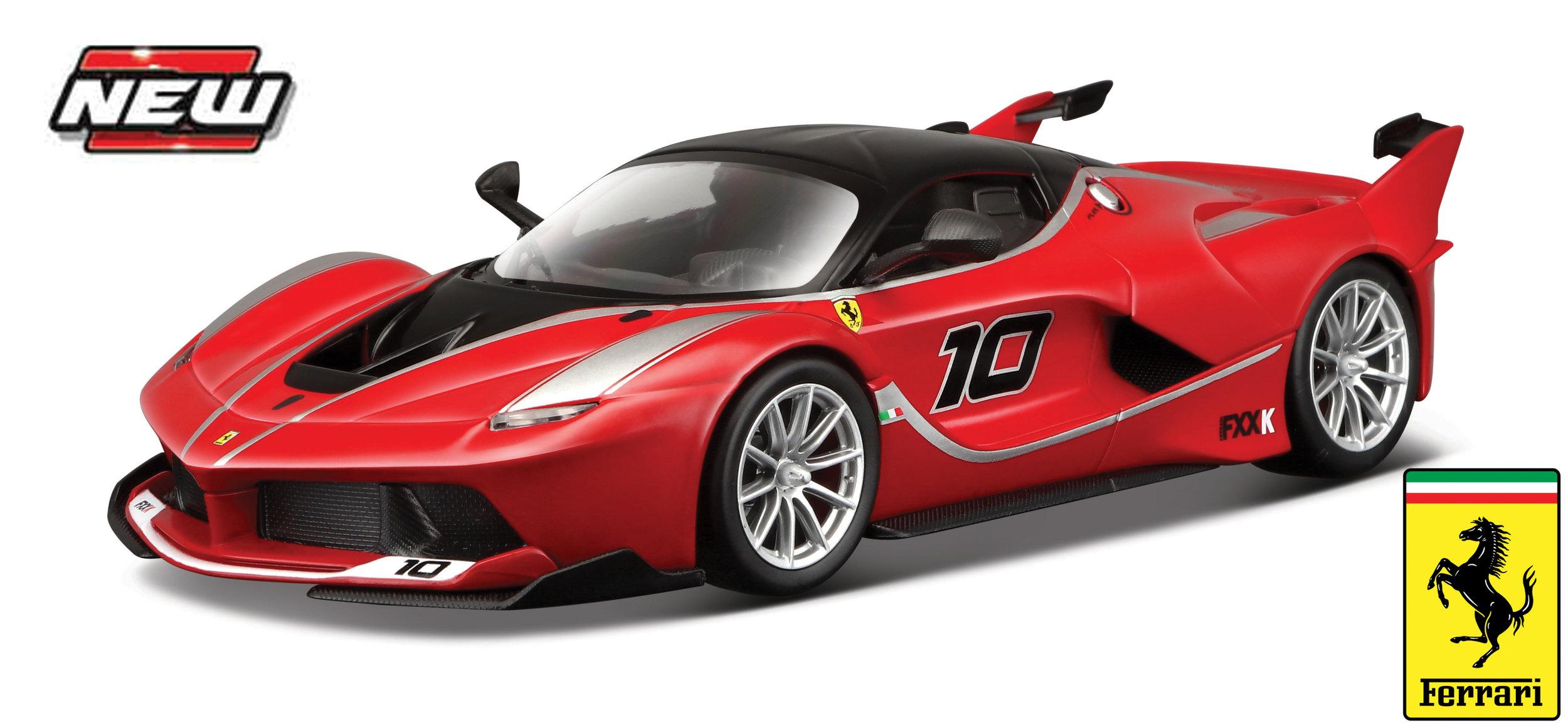 18-16010R  Ferrari FXX-K #10, rood, Bburago