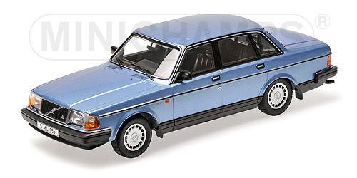 155171404  Volvo 240 GL 1986, blauw met., Minichamps