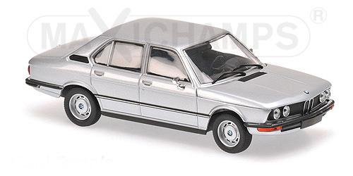 940023000  BMW 520 1974, zilver, Minichamps/Maxichamps