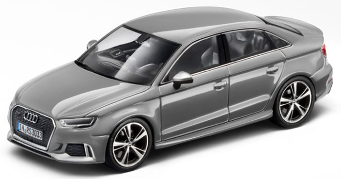 501.16.131.31  Audi RS3 Limousine, Nardogrijs, Spark