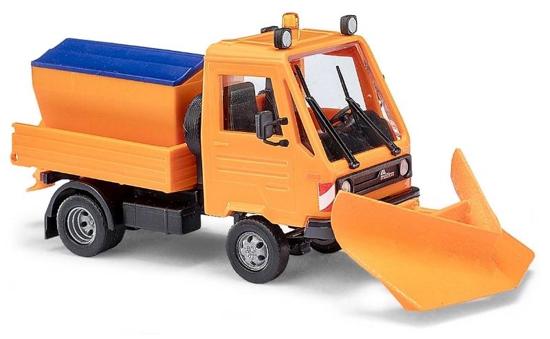 42222  Multicar met sneeuwploeg, Busch