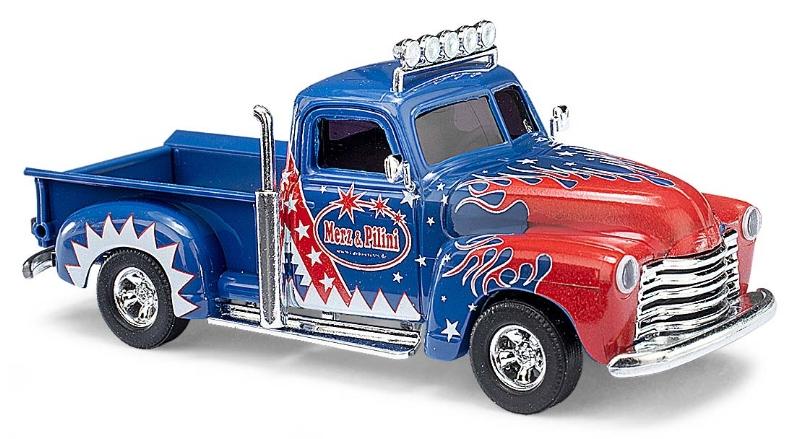 """48293  Chevy Pick-Up """"Merz & Pillini"""", Busch"""