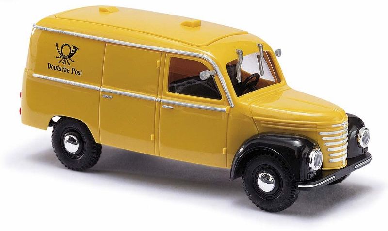 "51205  Framo V901/2 bestelwagen ""Post"", Busch"