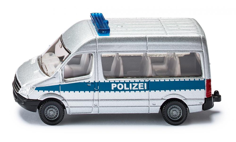 "0804  MB Sprinter ""Polizei"", Siku"
