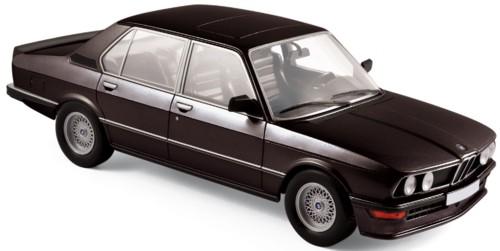 183264  BMW M 535i 1980, zwart, Norev
