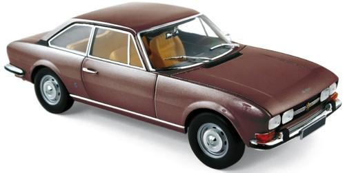 184822  Peugeot 504 Coupé 1973, bruin met., Norev
