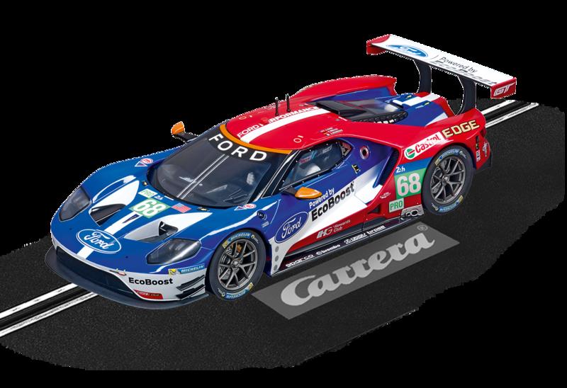 """23832  DIG124 Ford GT Race Car """"No.68"""", Carrera"""