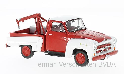 WB233    Chevrolet 3100 Takelwagen, rood/wit, Whitebox